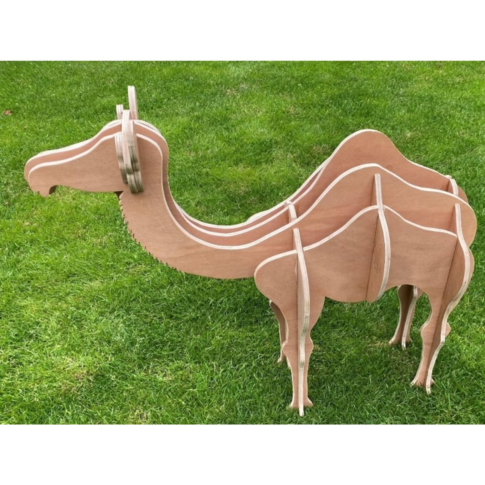 Kamel aus Holz - Bauzeichnung um ein Kamel selber zu machen