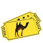Cadeaubon voor kamelensafari's