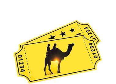 E-tickets voor de kamelensafari's