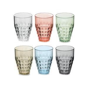 Guzzini Set van 6 glazen (lang)