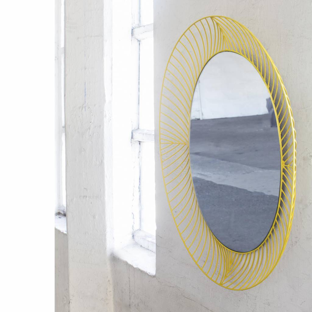 Mirror / Colonel / Oval / Yellow