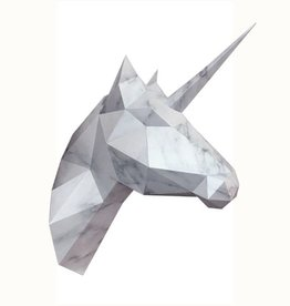 Paper Unicorn / Marble