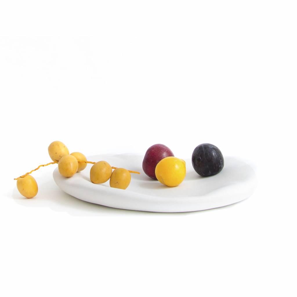 Plate / Canova / White