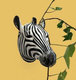 Wall Vase / Zebra