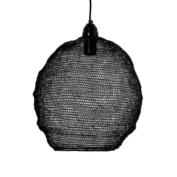 """Zwart metaal gaaslamp """"Garza"""""""