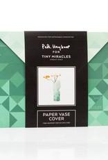 Papieren Vaas / Groen