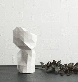 Paper Vase / White