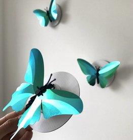 Papieren Vlinders / Groen