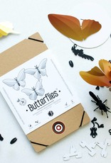 Paper Butterflies / Green