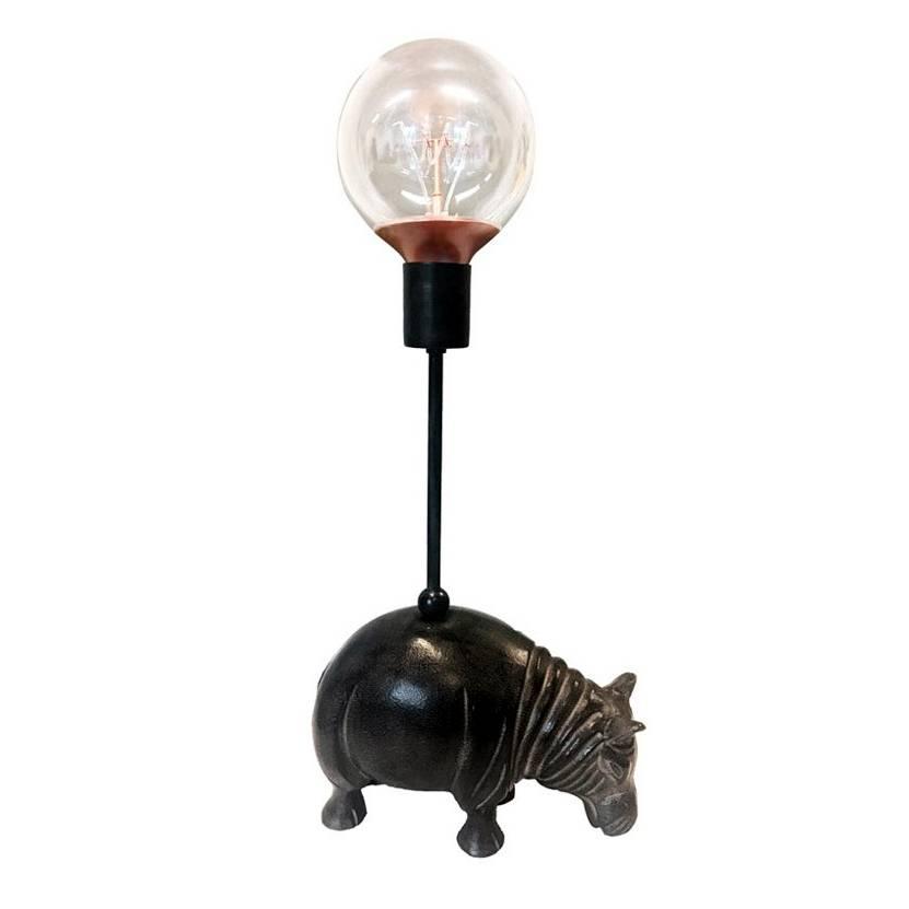 Hippo Lamp