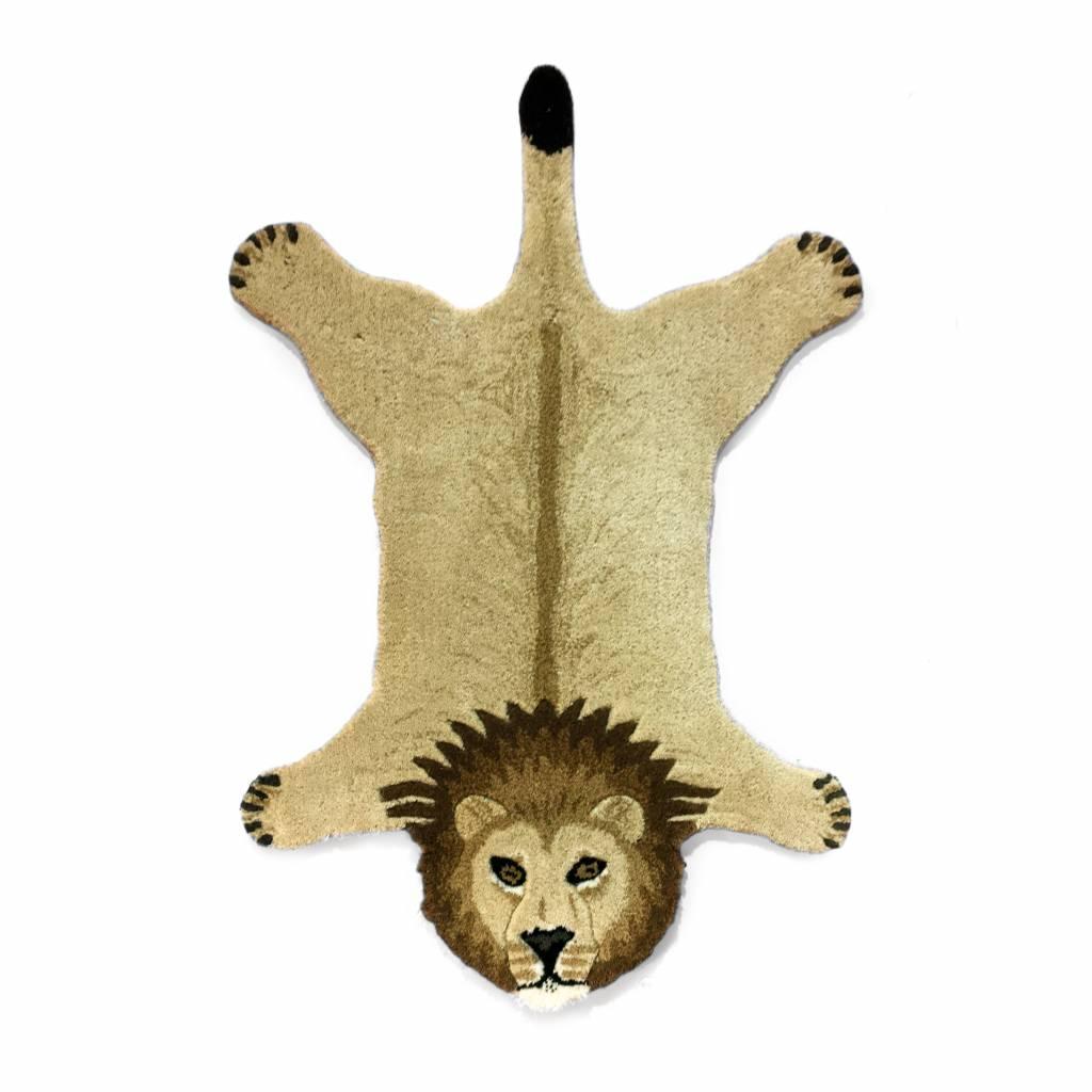 Doing Goods leeuw vloerkleed