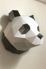 Paper panda wall decoration