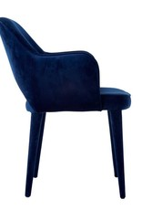 Velvet Chair / Blue