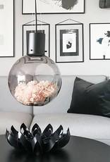 Hanglamp / Globe / L / Rookglas