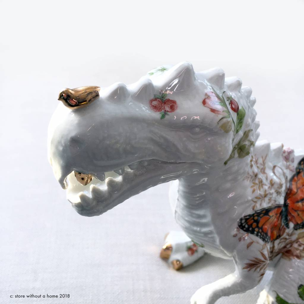 T-rex figurine by Lammers and Lammers