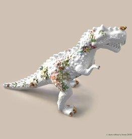 T-rex figurine / Flowers