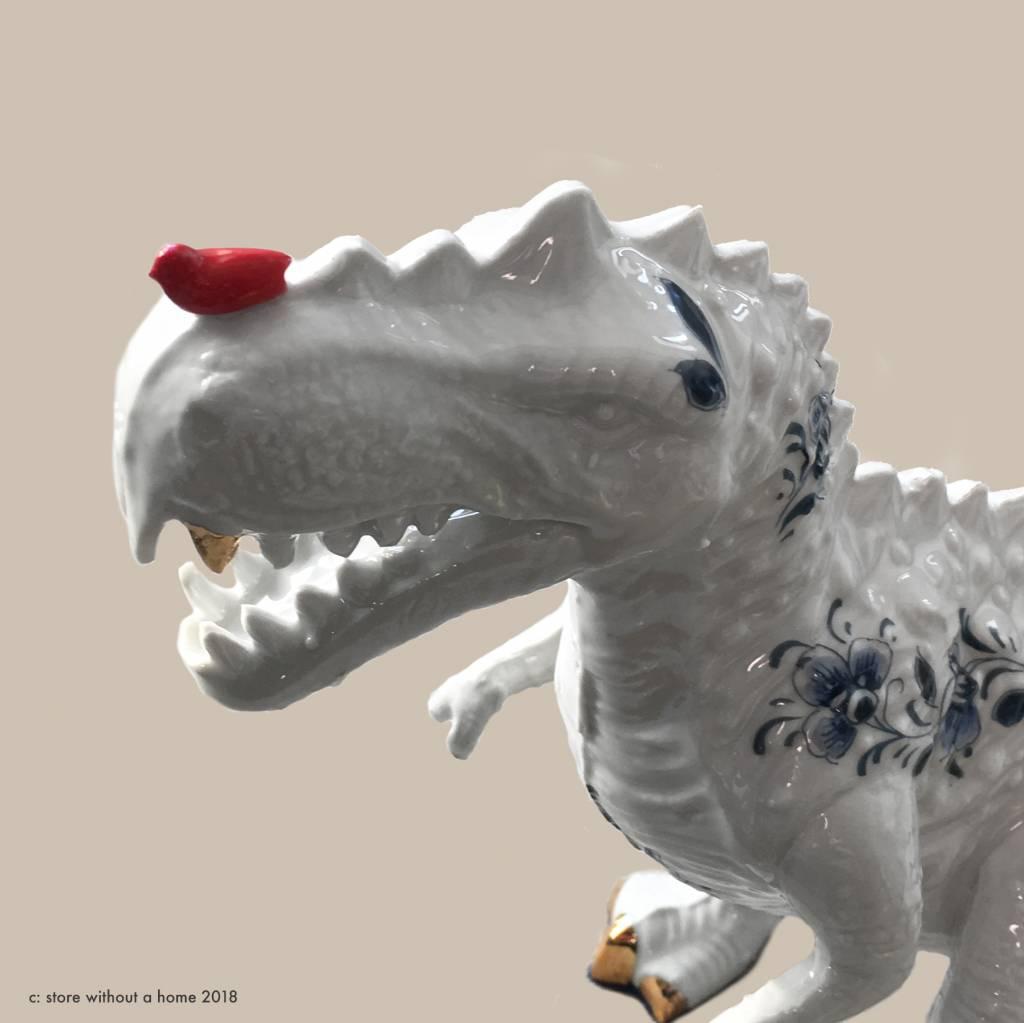 T-rex dinosaurus beeld van Lammers en Lammers