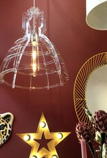 Design hanglamp van acryl