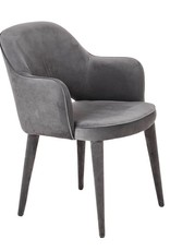 Velvet Chair / Grey