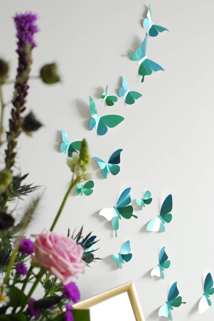 28 Papieren Vlinders van Assembli