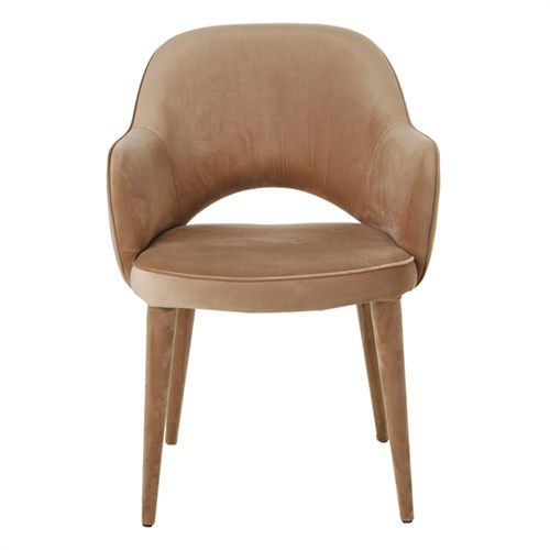Velvet Chair / Beige