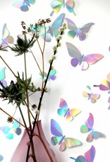 24 Paper Butterflies / Rainbow