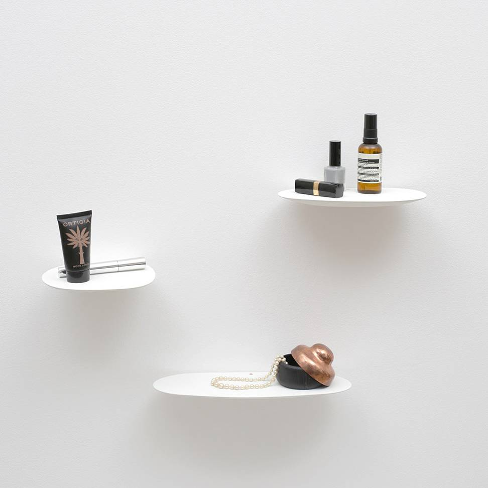 Modern design floating ceramic shelf