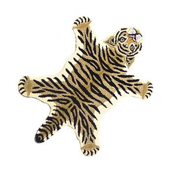 Vloerkleed in de vorm van een tijger