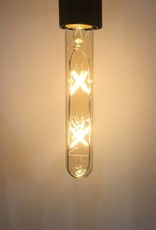 Retro LED light tube 4W 19 cm