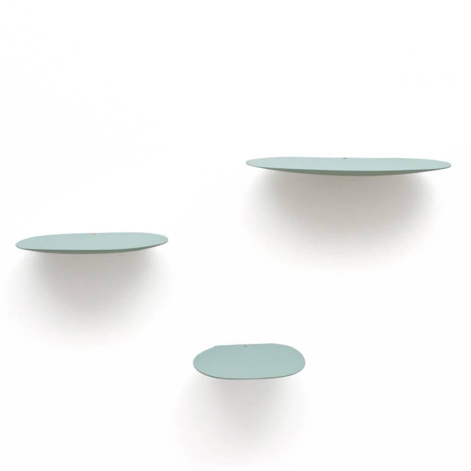 Wandplankje keramiek / M / Mint groen