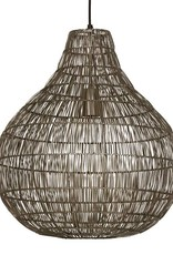 "Modern metal pendant light ""Mettan 1"""