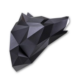 Paper Kit / Wolf / Black