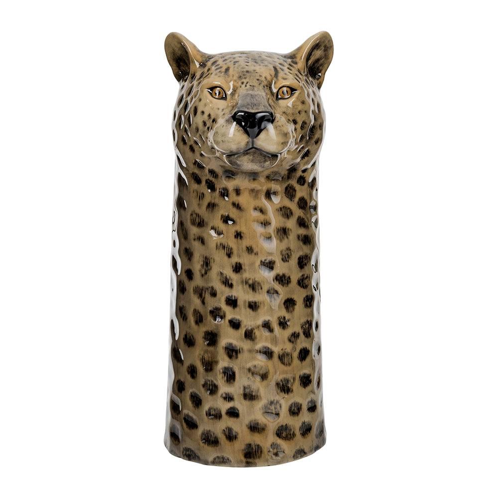 Vaas in de vorm van een luipaard