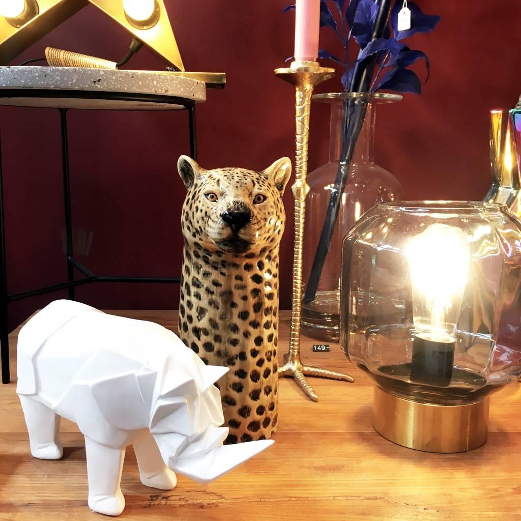 Glazen tafellamp / Oscar / S