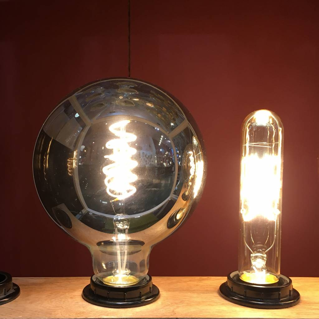 Retro LED Gloeilamp 4W / Rookglas