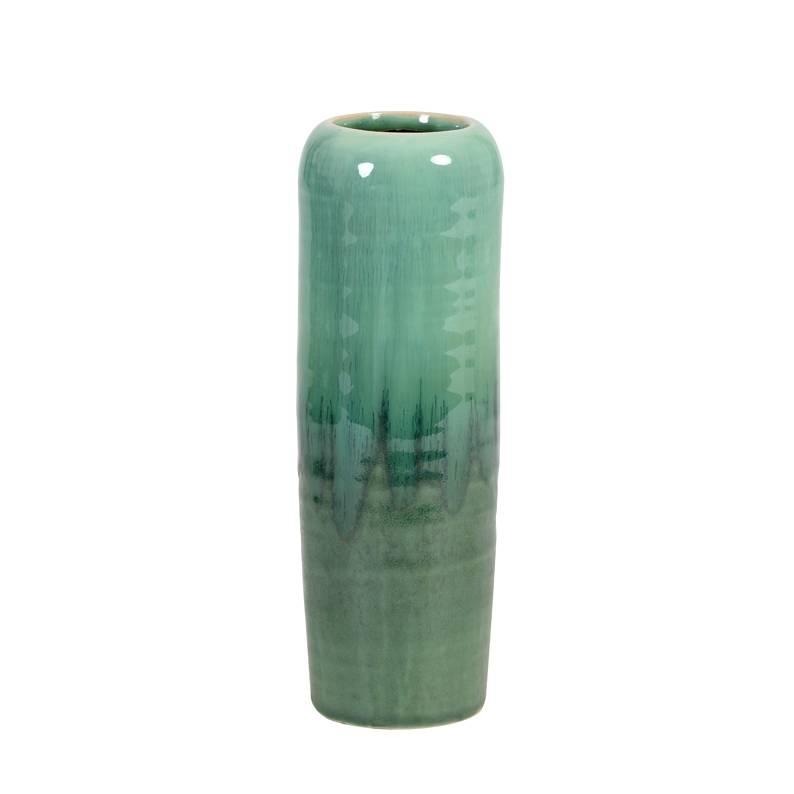 Mint green pastel vase