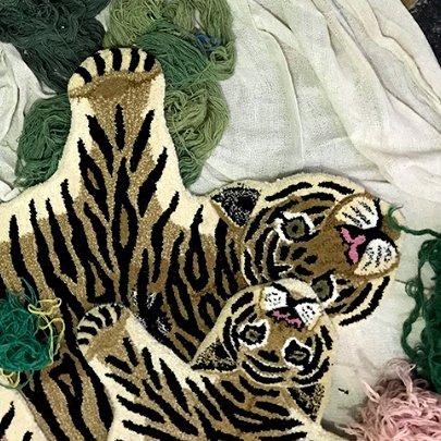 Tiger Rug / L
