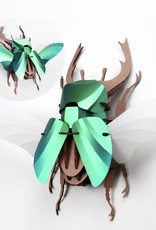 Paper Beetle / Stag / Green