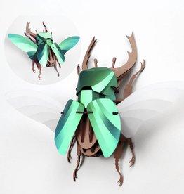 Papieren kever / Stag / Groen