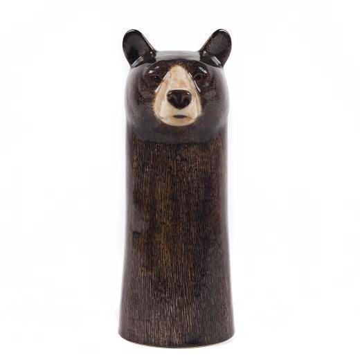 Ceramic bear vase