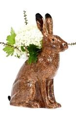 Ceramic hare vase