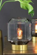 Glazen tafellamp / Oscar / Helder