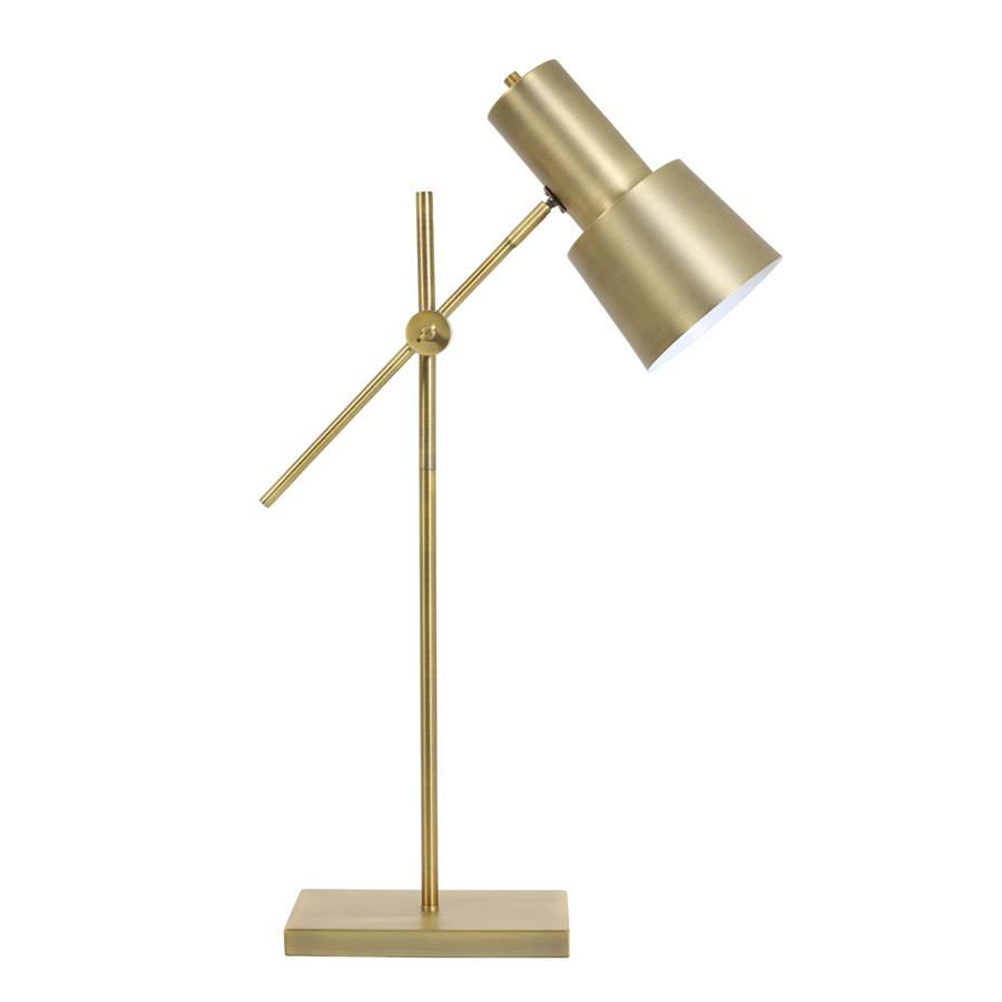 "Modern gold desk lamp ""Arvo"""