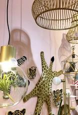 "Modern bamboo pendant light ""Simba"""