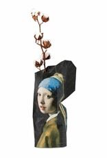 Paper Vase / Girl with a pearl earring