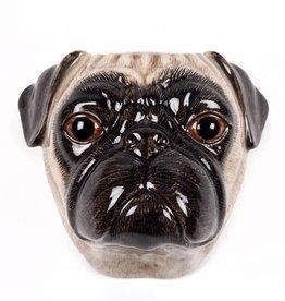 Wall Vase / Pug Fawn / L