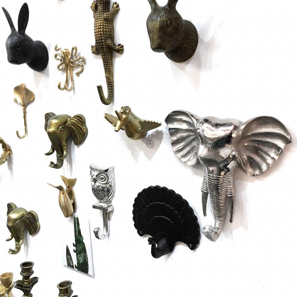 Rabbit Hook / Brass