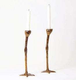 Kandelaar Set / Long Legs / Goud