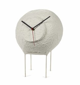 Paper Pulp Clock / White