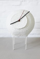 White paper Pulp Clock